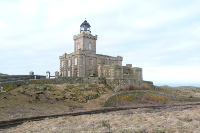 Impressive: main lighthouse on the island built by Robert Stevenson in 1816