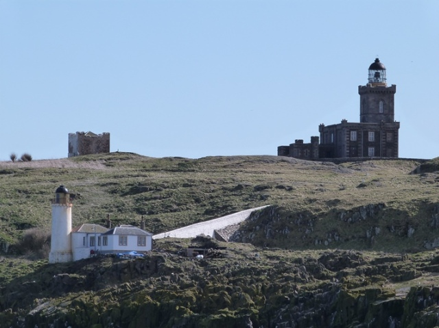 All three 'May' Lighthouse; Low Light, Beacon and Main Light