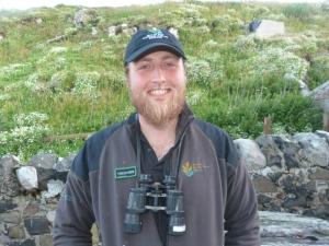 James, our long tern volunteer