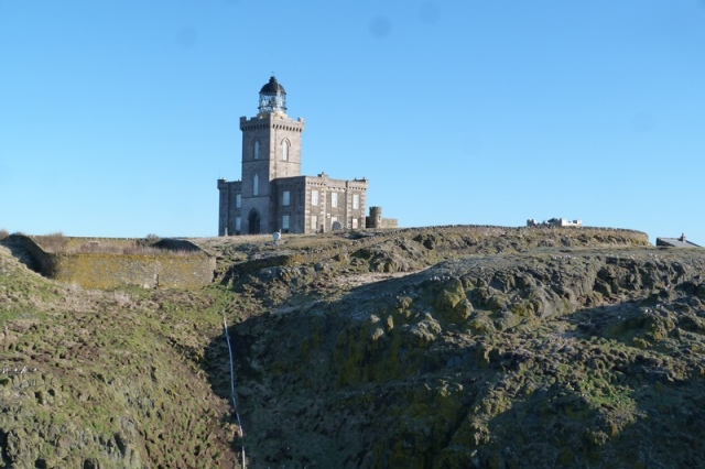 The Isle of May main lighthouse