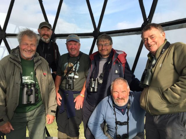 With great birders