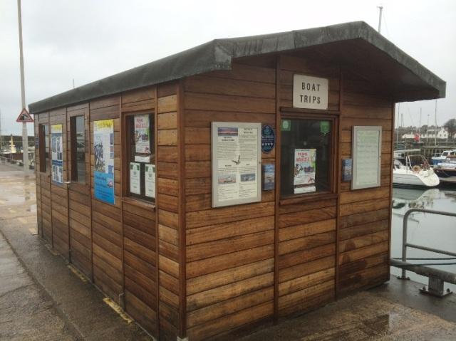 Booking hut