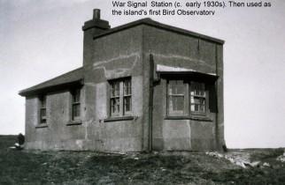 War Signal Station 1930s